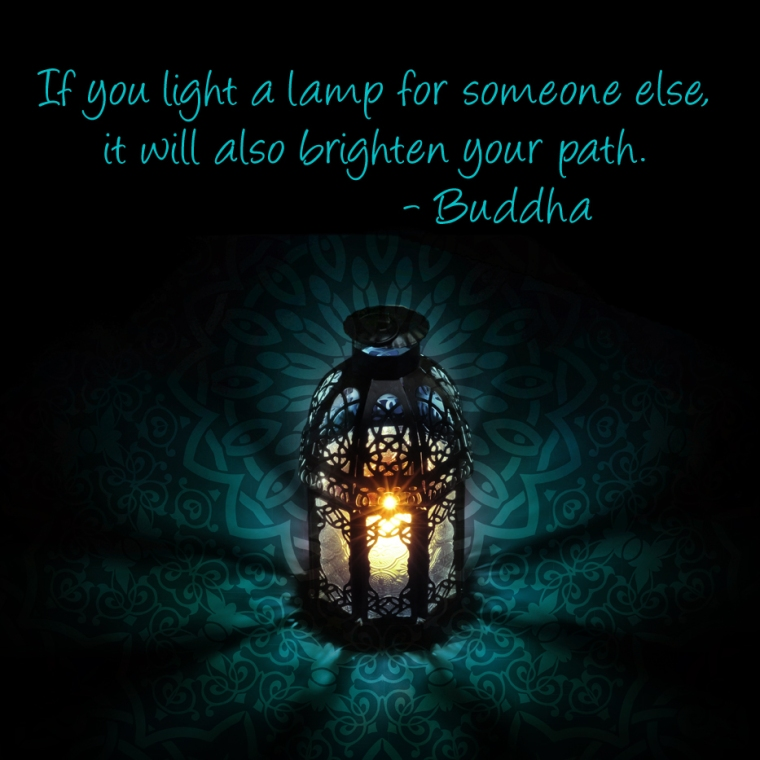 buddha lamp quote